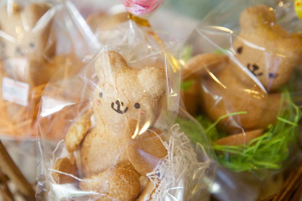 可愛いクマのクッキー