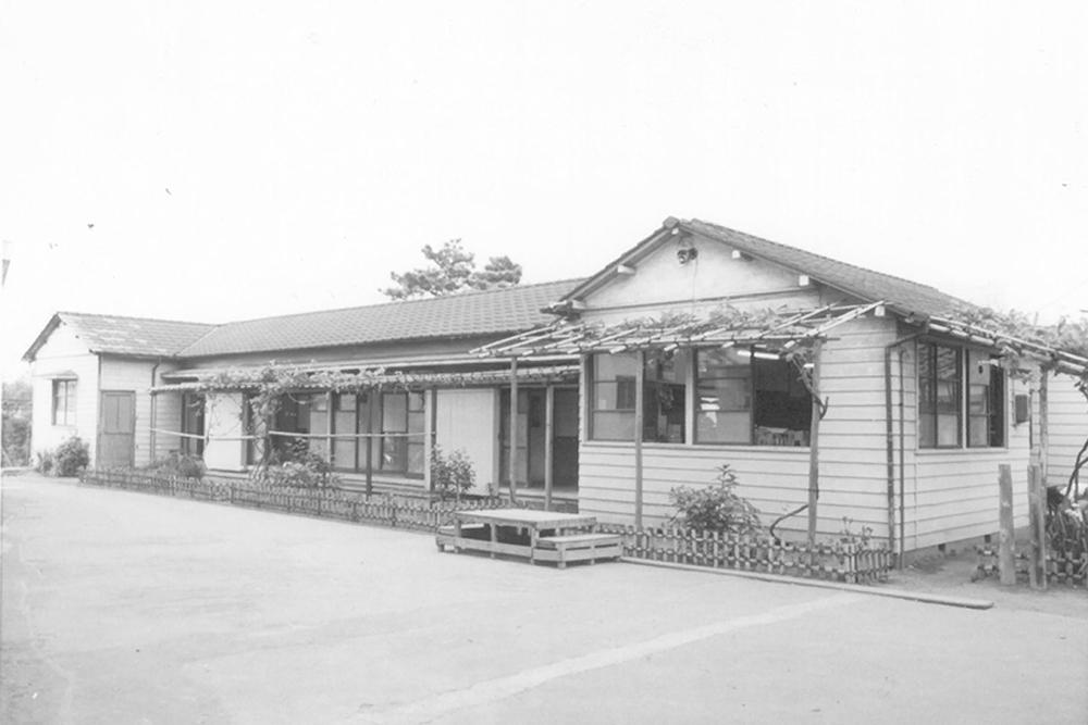 設立時の建物の外観